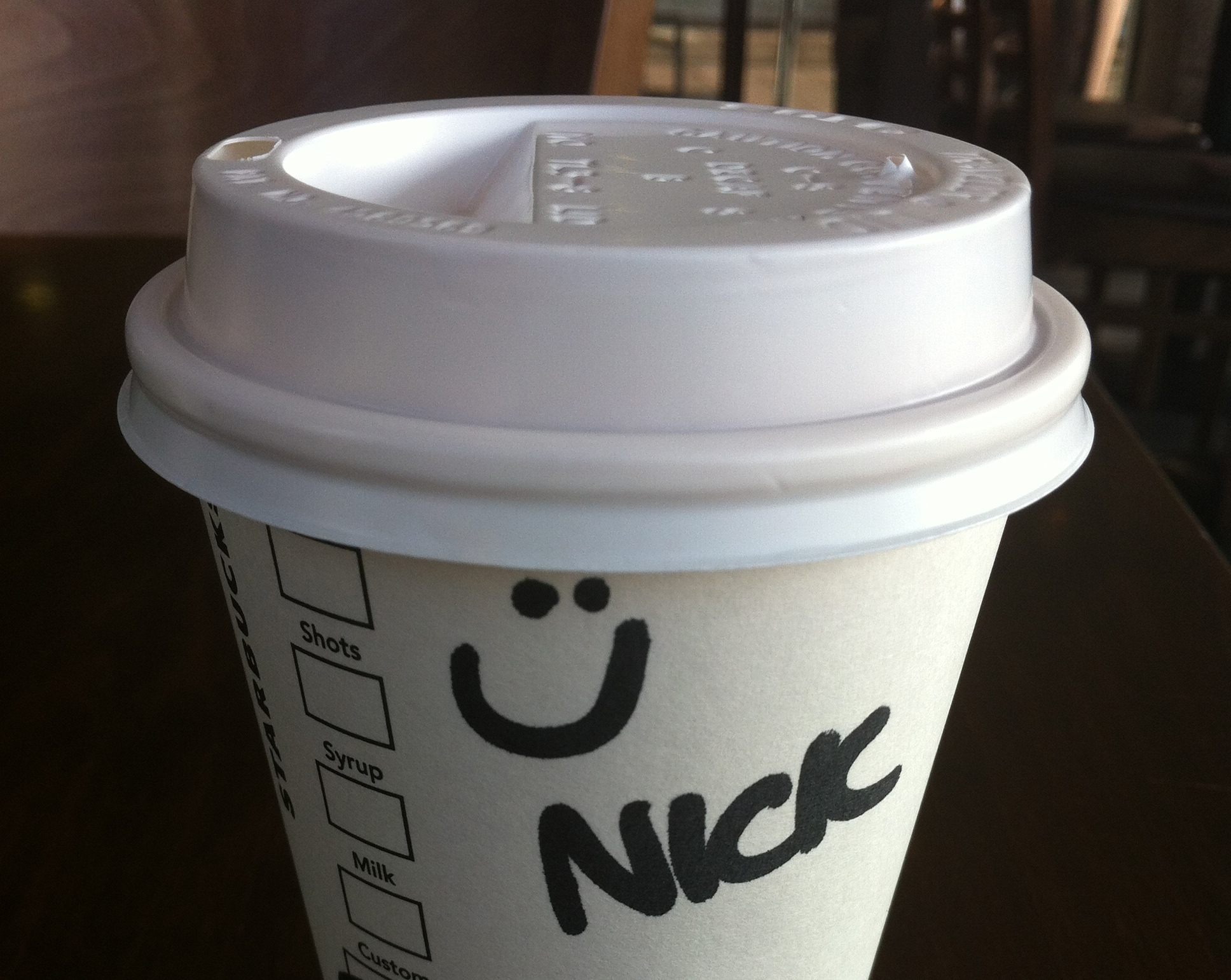 What Is A Coffee Maker At Starbucks Called : The Starbucks name game. NICK RILEY. MY PERSPECTIVE. MY LIFE OF RILEY?