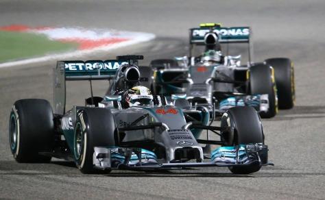 MERCEDES F1 2014